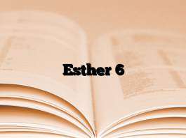 Esther 6