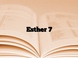 Esther 7