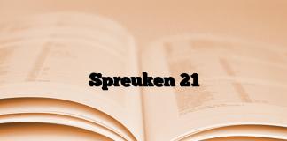 spreuken 21 19 Spreuken Archives   Brieven aan God spreuken 21